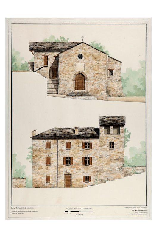 Progetto di recupero del complesso monastico